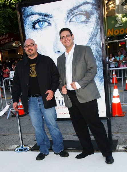 Greg and Steve Lieber at Whiteout premiere