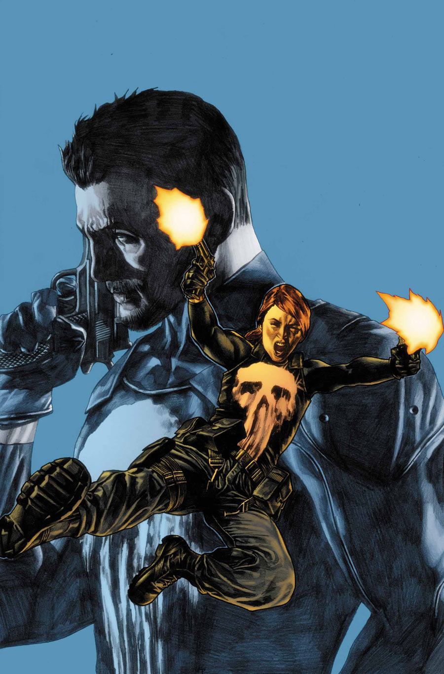 Cool Book Cover Zone : Punisher greg rucka