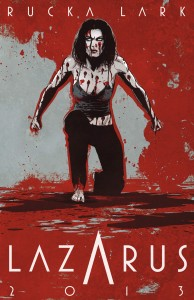 LAZARUS promotional poster.
